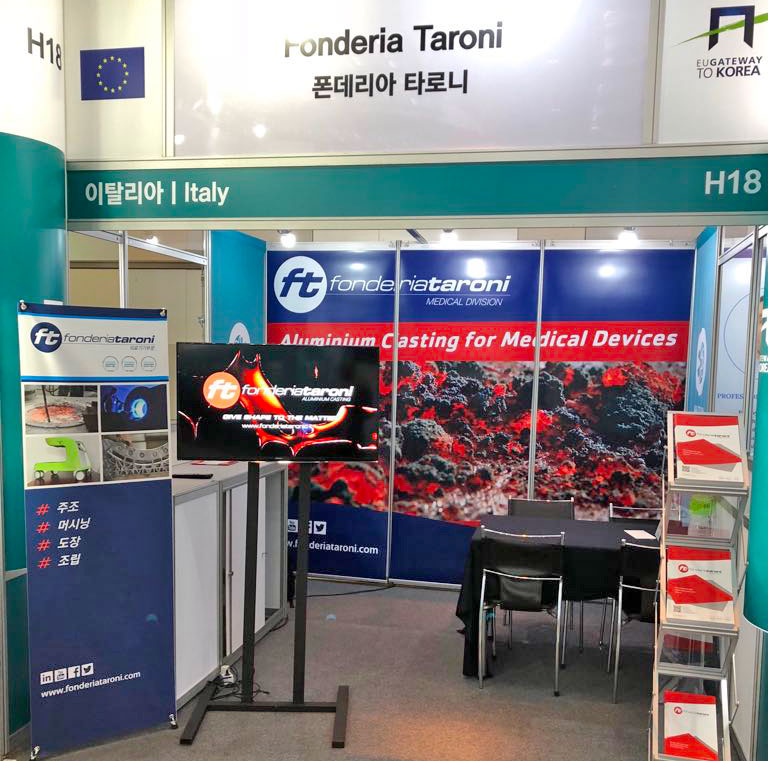 Taroni Foundry at EUGATEWAY TO KOREA