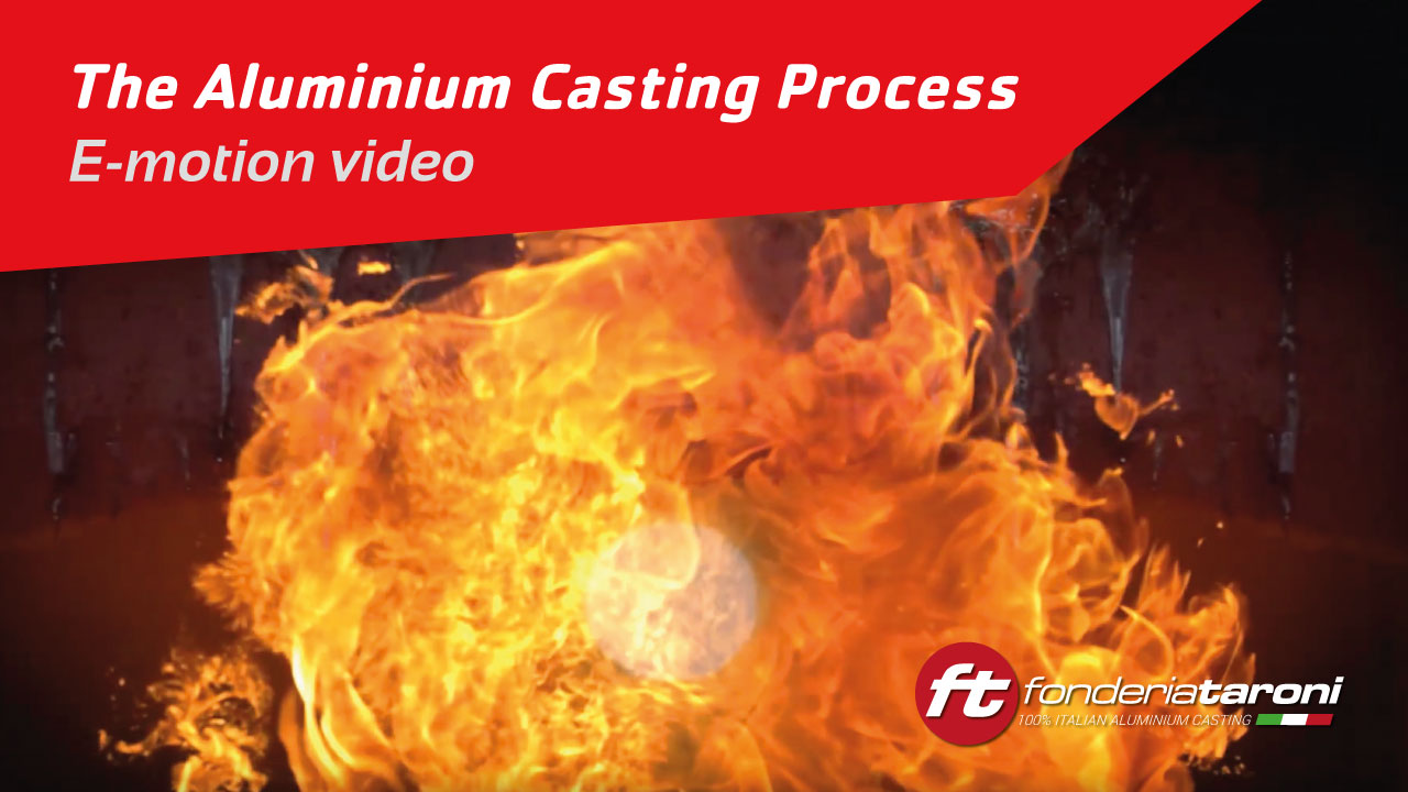 The Aluminium Casting Process in Taroni Foundry - emotional video