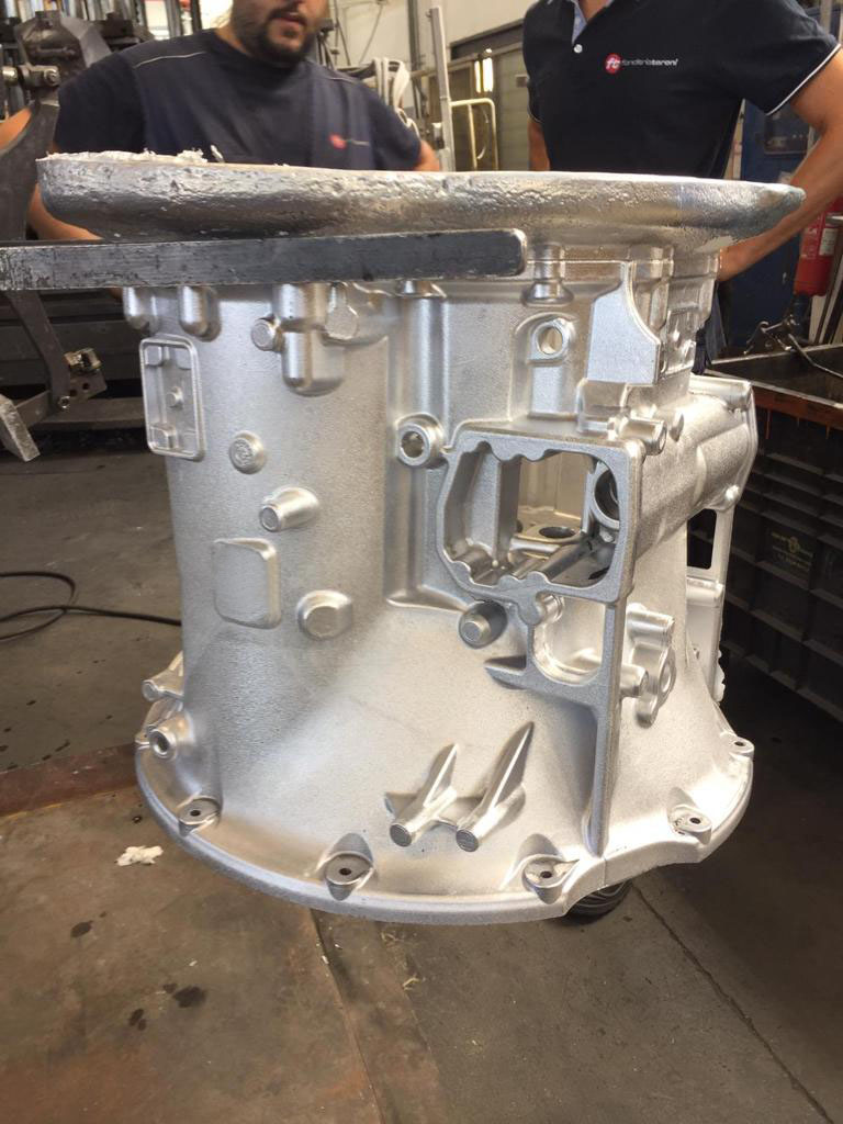 The birth of a truck gearbox